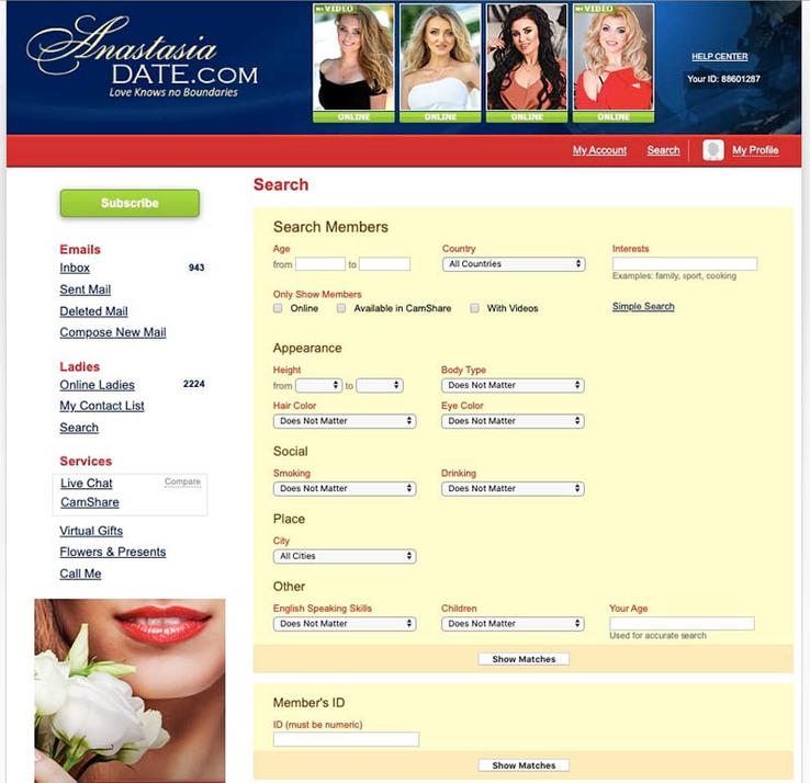 Account anastasiadate com delete AnastasiaDate offers