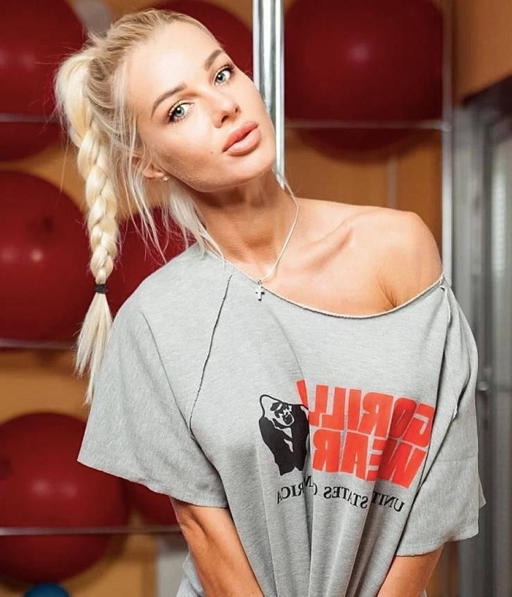 Russian Blonde Teen Solo