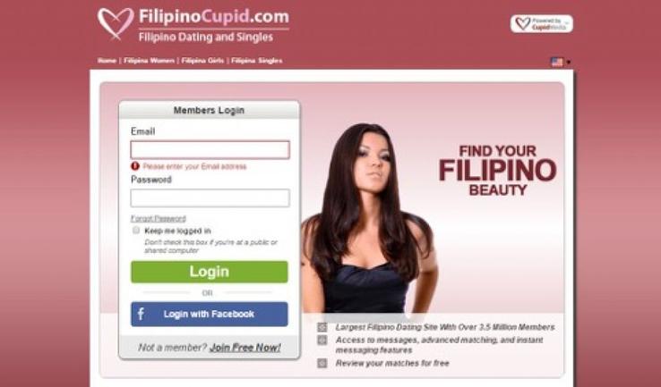 Cupid dating login